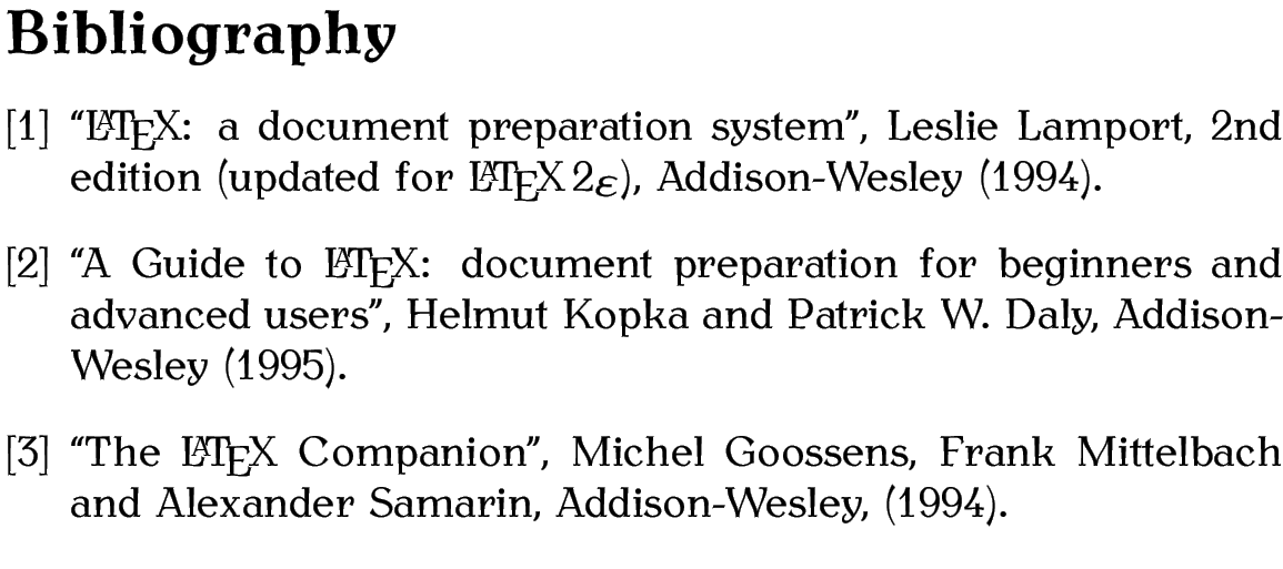 What? True latex bibtex example could not