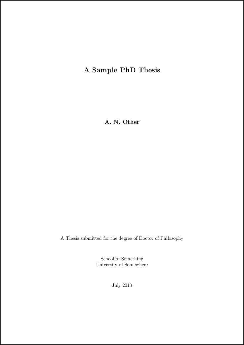 physics thesis latex
